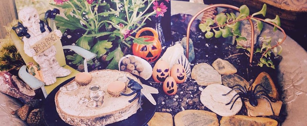 Halloween Fairy Gardens Are Already Trending — and It's Not Too Early to DIY Yours