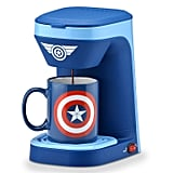 Marvel Captain America One Cup Coffee Maker With Mug