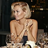 Lara looked so chic at a dinner event in 2014. Source: Instagram user mslbingle