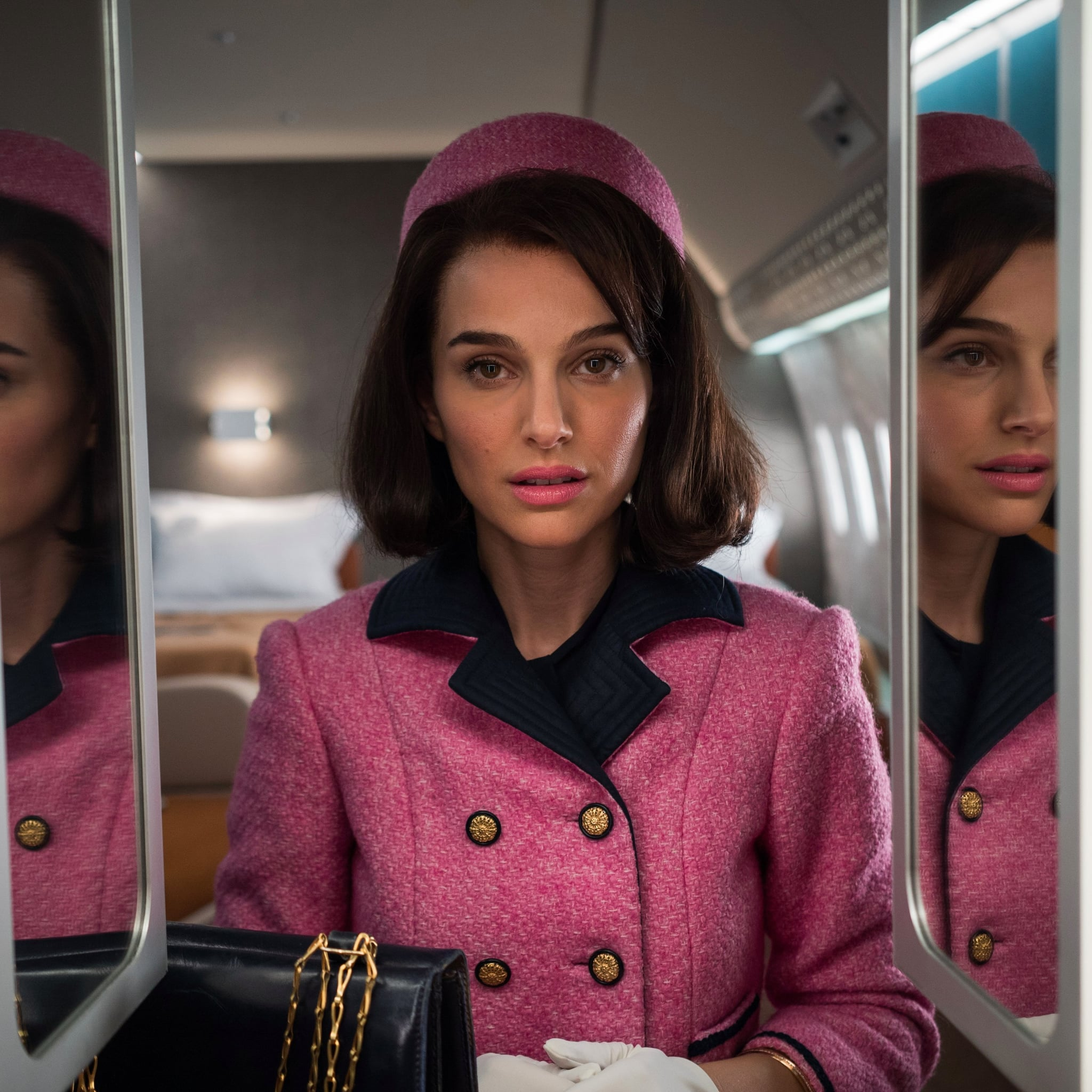 natalie portman as jackie kennedy style pictures popsugar fashion