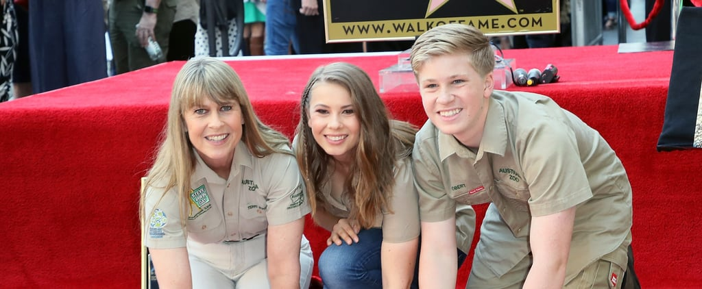 Steve Irwin's Walk of Fame Star Ceremony Pictures