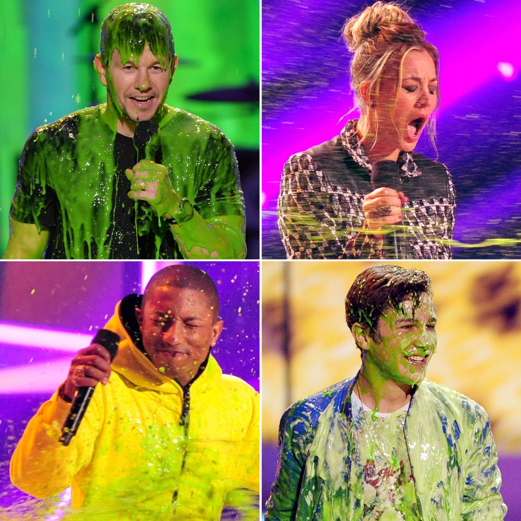Slimed Celebrities at the Kids' Choice Awards | Pictures