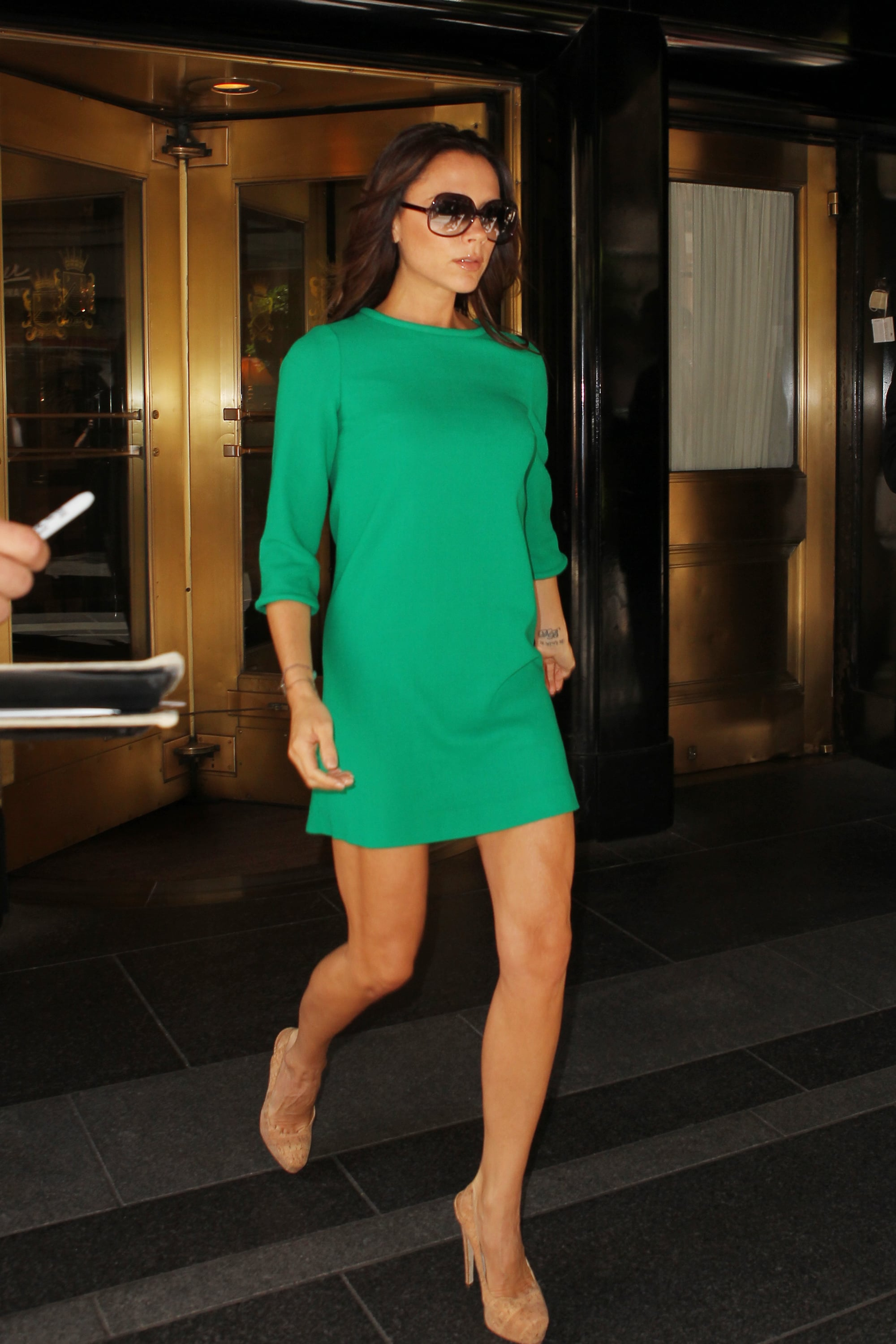 Pictures of Victoria Beckham in NYC as She Gears Up For Fashion Week ...