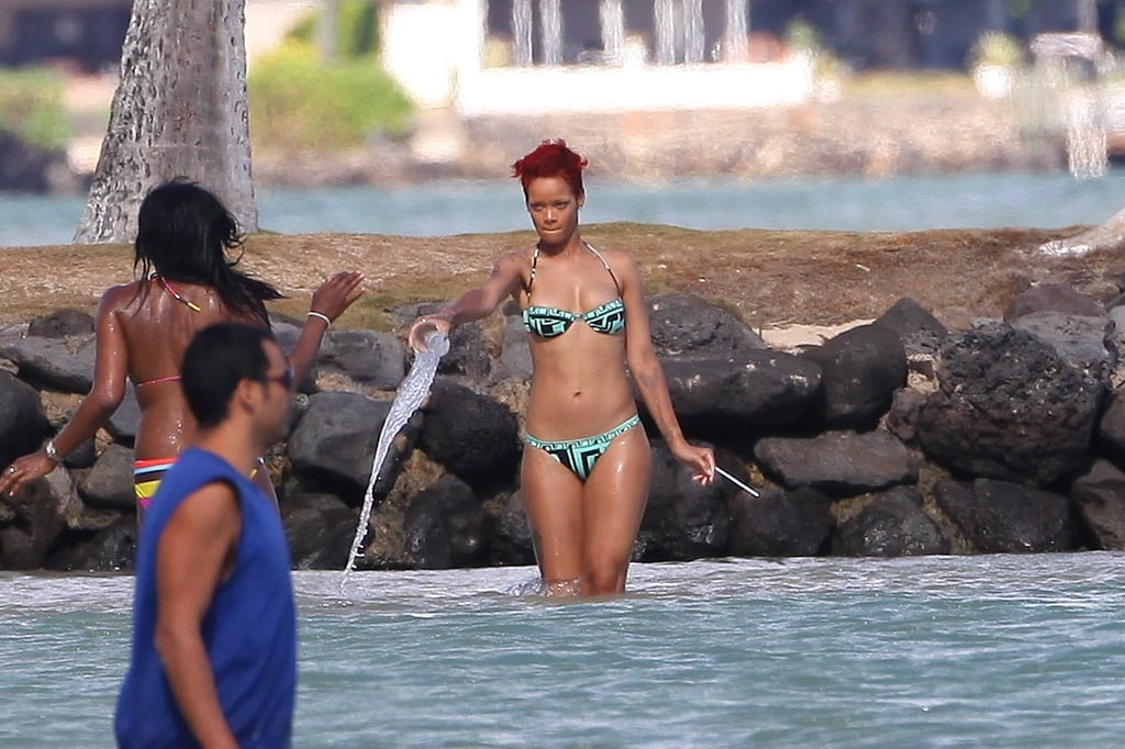 Pictures of Rihanna in a Bikini