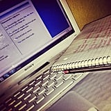 Get rid of the paper and convert those paper notes to digital.  Source: Instagram user butterflyy_