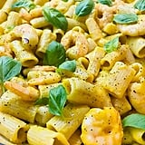 Rigatoni With Butternut Squash and Shrimp
