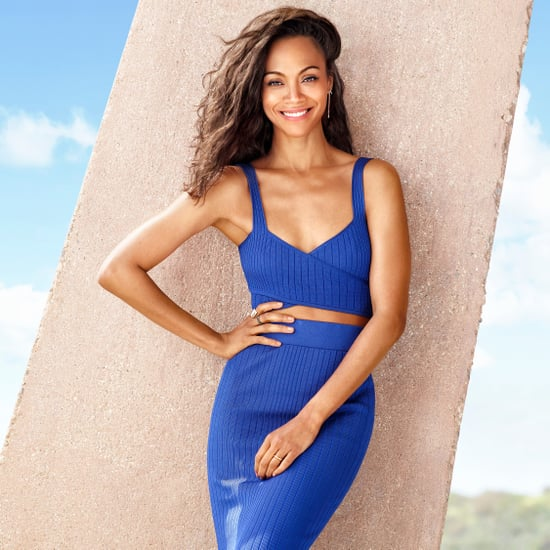 Zoe Saldana Shape Cover | June 2017