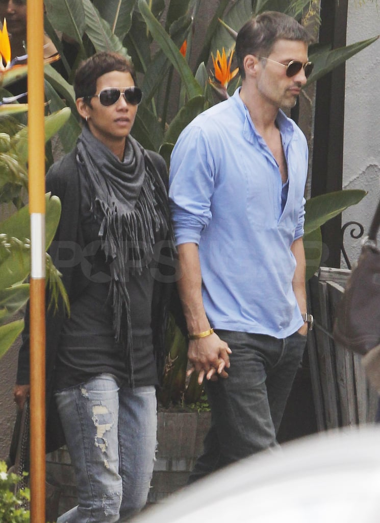 Halle and Olivier Hit the Town Following Her Week by the Water With Nahla