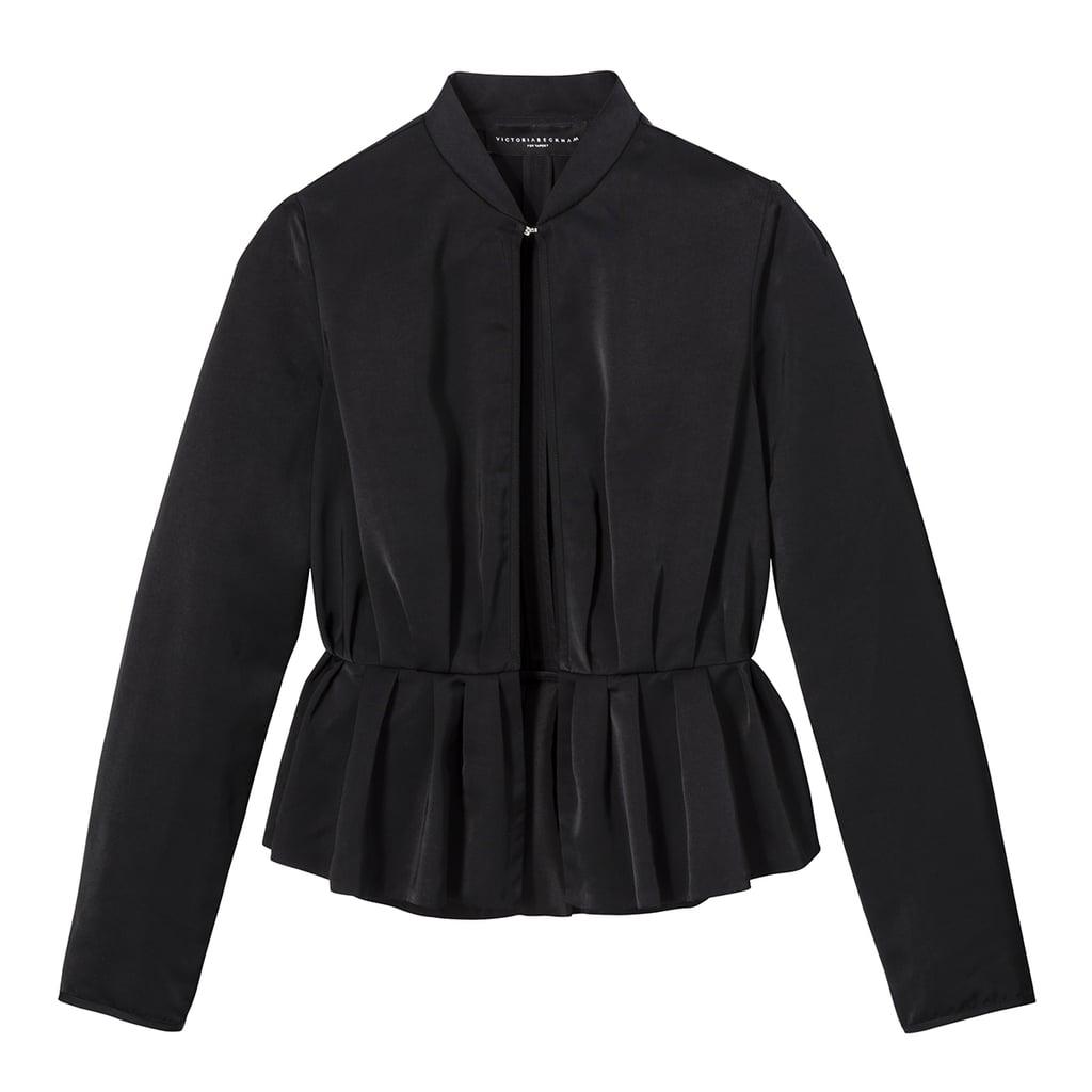 Black Peplum Jacket ($35)