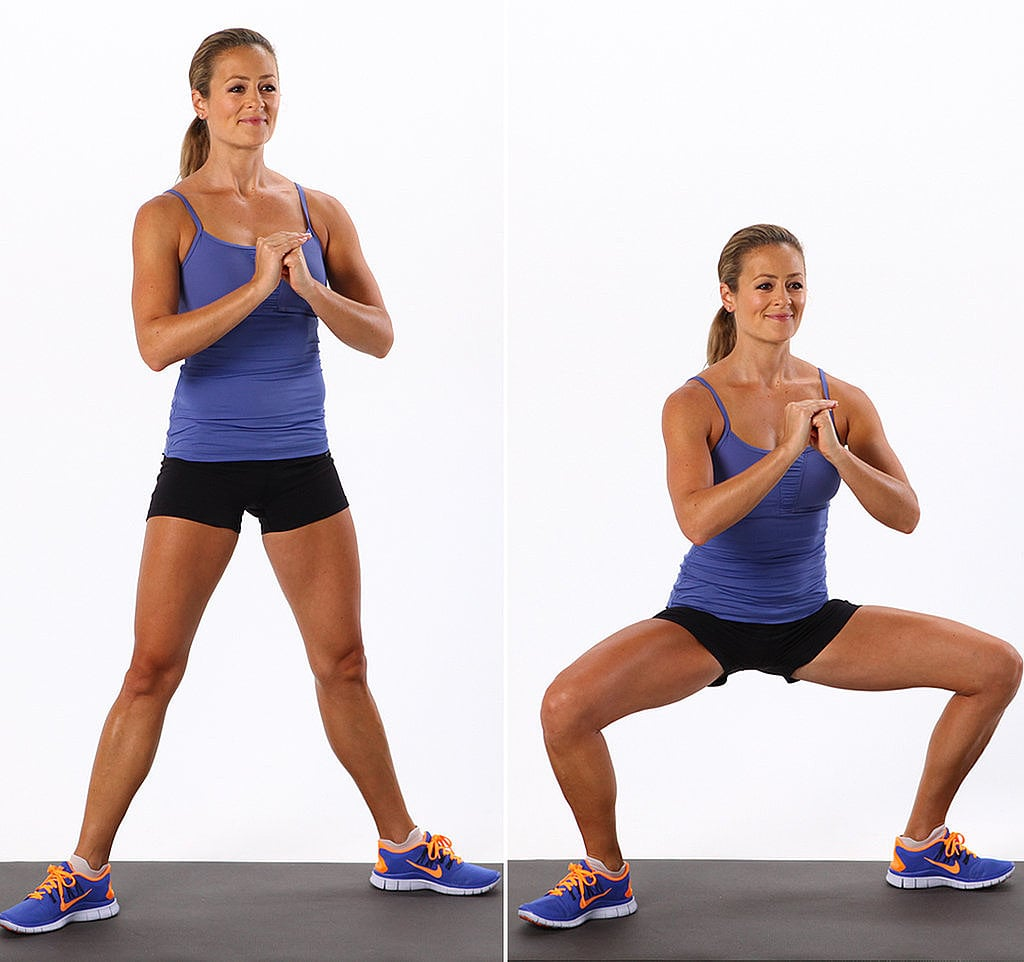 Lower Body: Sumo Squat