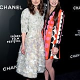 Keira Knightley and Hailee Steinfeld screened Begin Again