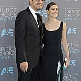Emmy Rossum's Huge Engagement Ring Just Upstaged the Critics' Choice Awards