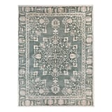 Pastures Area Rug in Blue