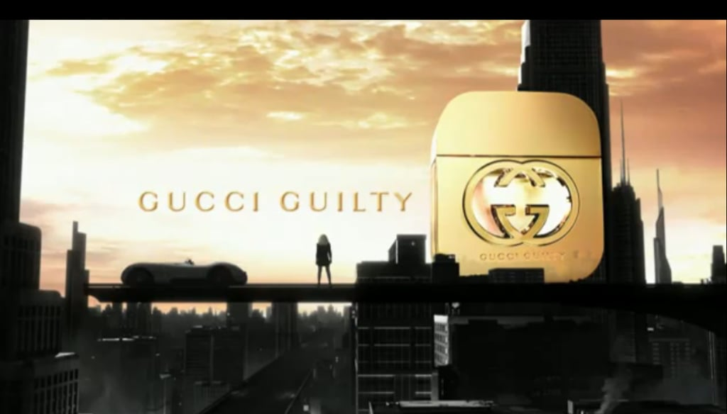 Gucci Guilty Commercial Hits Web Early!
