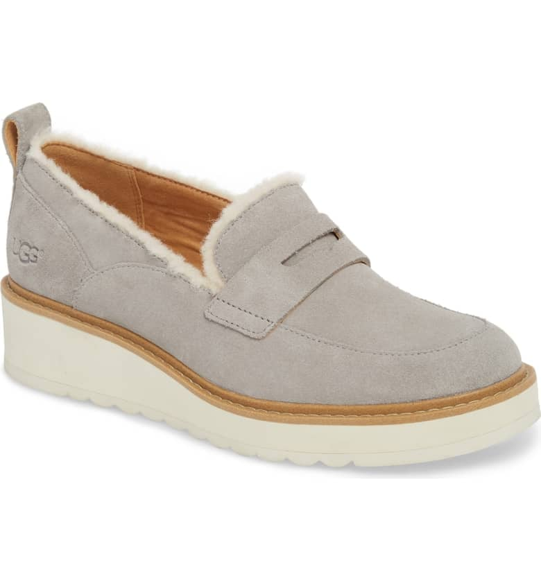 f8dd44753f3 UGG Atwater Spill Seam Wedge Loafer