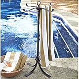 Bronze Pool Storage Towel Valet