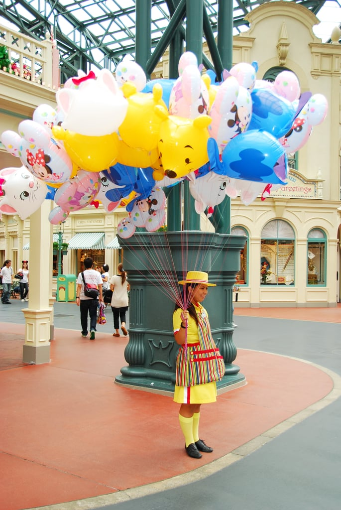Japan has the coolest Disney costumes EVER.