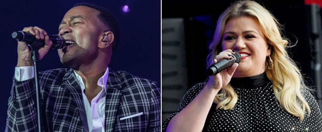 "Kelly Clarkson and John Legend ""Baby It's Cold Outside"" Song"