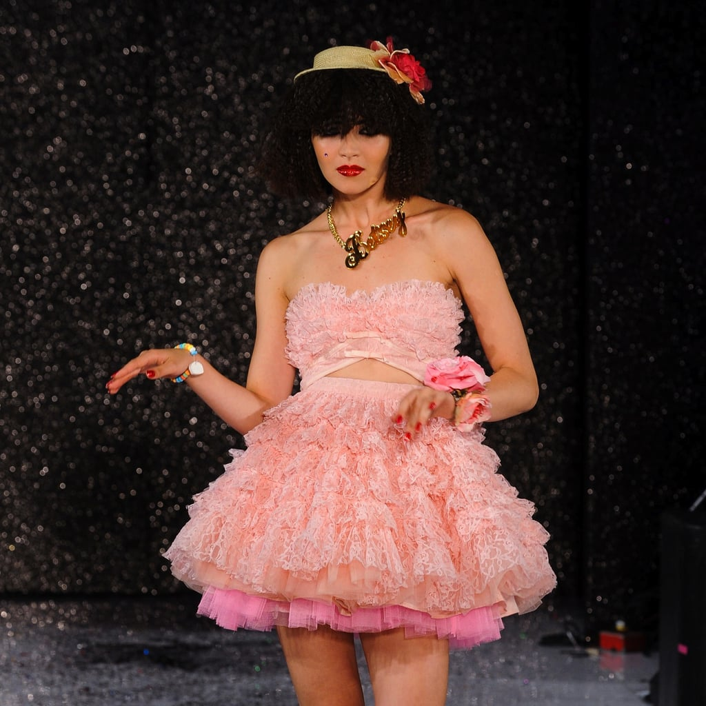 Betsey Johnson Spring Runway Popsugar Fashion