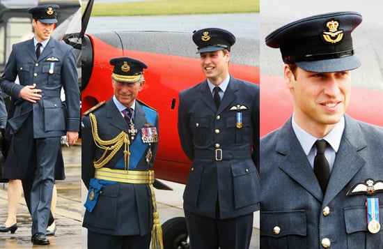Pictures of Prince William's RAF Graduation Ceremony