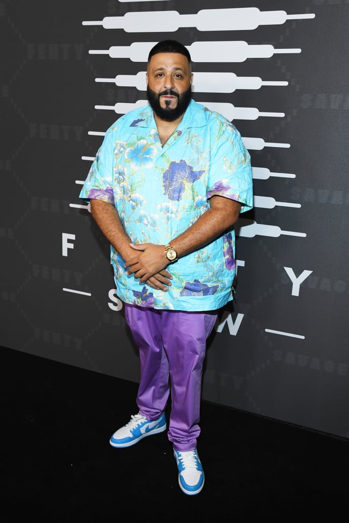DJ Khaled at the Savage x Fenty New York Fashion Week Show