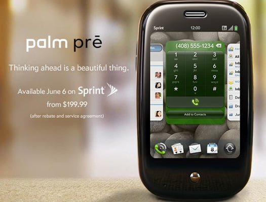 Daily Tech: The Palm Pre Is Coming June 6 For $200