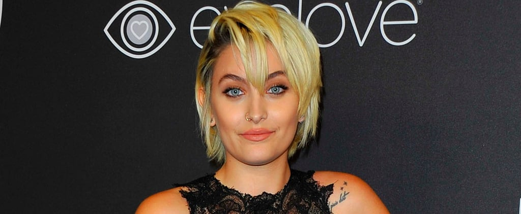 Paris Jackson Is All Grown Up and Gorgeous at a Golden Globes Afterparty