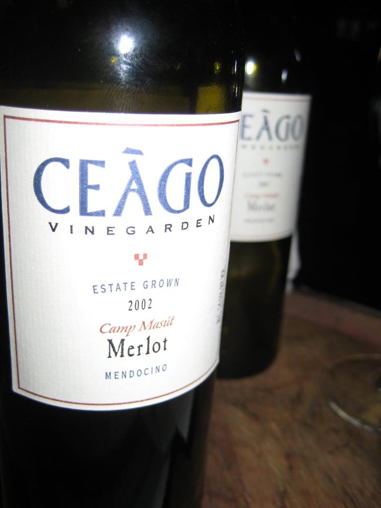 2002 Ceágo Merlot
