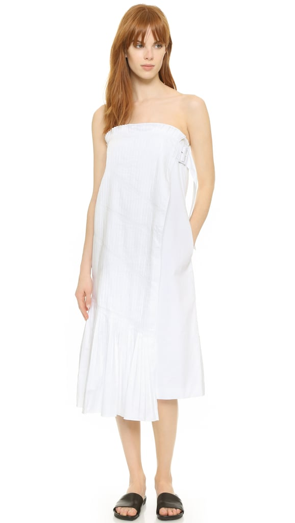 Tibi Manuella Strapless Dress ($625)