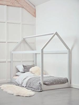 Cox & Cox House Bedoom Modern White Bed
