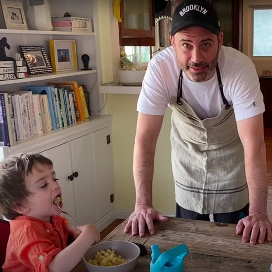 "Jimmy Kimmel's Kids Love His ""Pasta Tina"" Recipe 