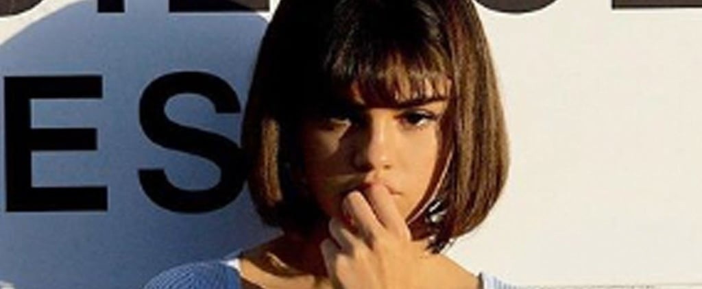 """Selena Gomez Bob and Bangs in the """"Back to You"""" Music Video"""