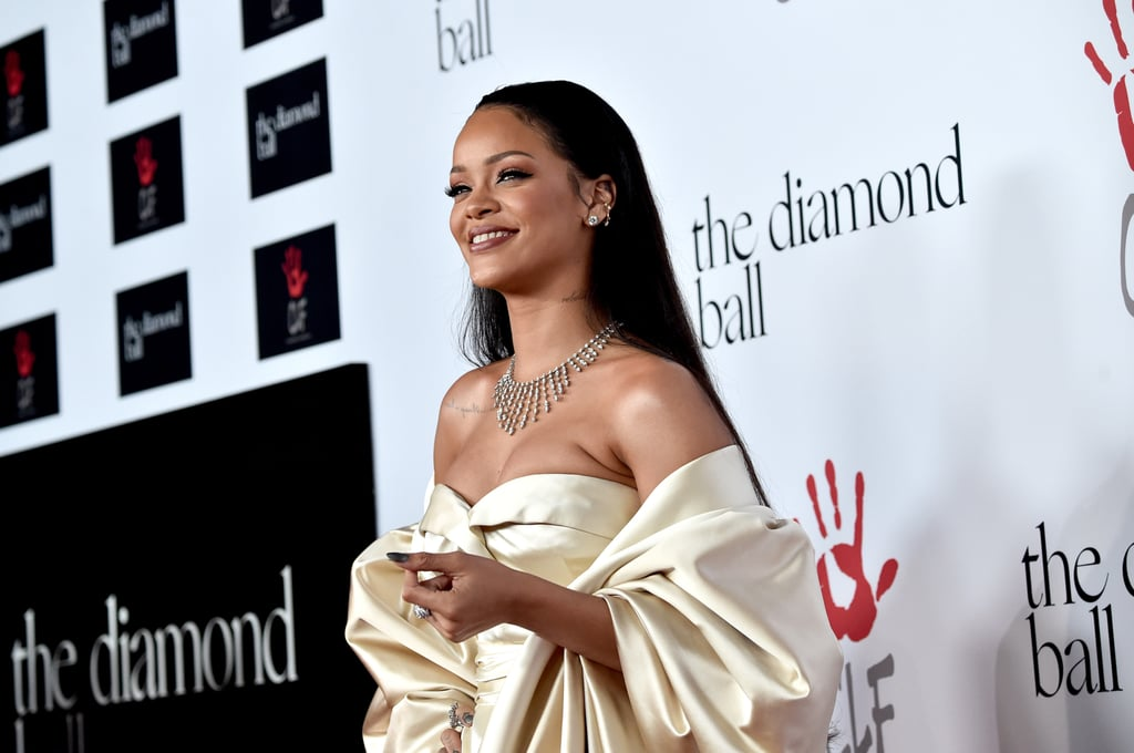 Celebrities at Rihanna's Diamond Ball 2015 Pictures
