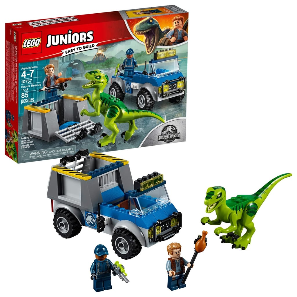 For 5-Year-Olds: Lego Juniors Jurassic World Raptor Rescue Truck