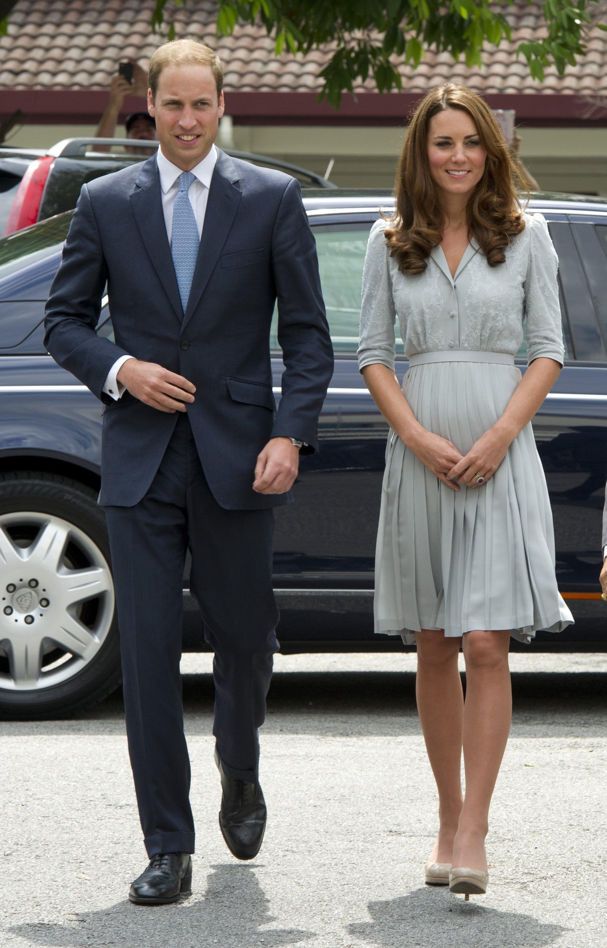 The Royal Couple in Kuala Lumpur