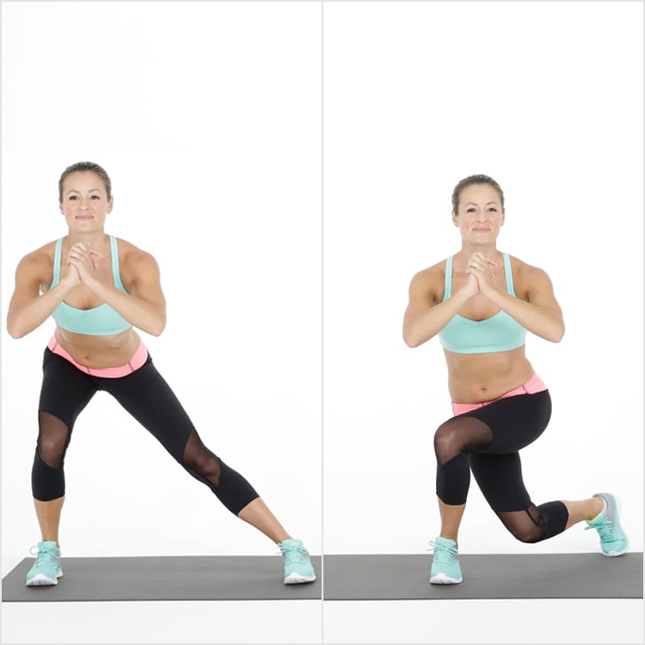 Circuit 2: Side Lunge to Curtsy Squat