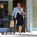 Reese Witherspoon went shopping with a friend in Brentwood.
