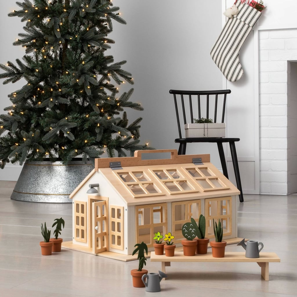 Wooden Toy Greenhouse