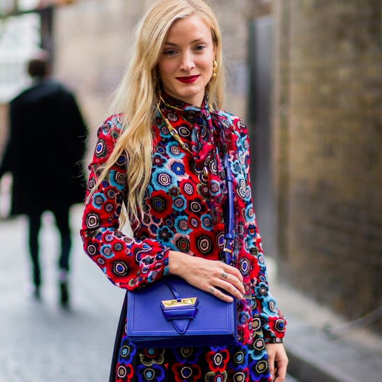 Floral Dresses London Fashion Week Street Style Trend