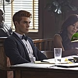 KJ Apa and Robin Givens as Archie and Sierra McCoy