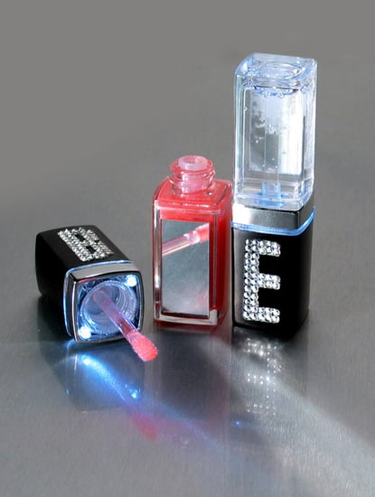 Totally Geeky or Geek Chic? LED Swarovski Crystal Lip Gloss