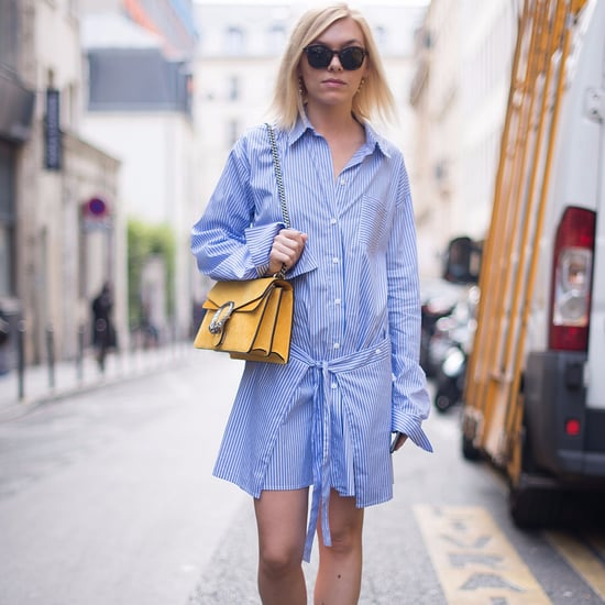 Shirt Dress Outfit Ideas