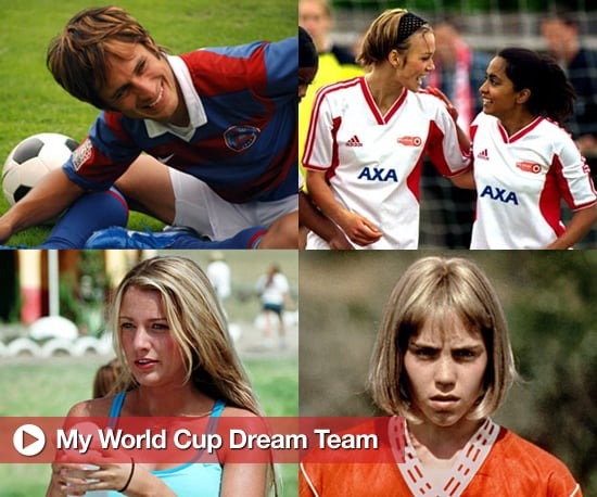 Pictures from Movies About Football or Movie Characters Who Are Football Players for the World Cup Including Keira Knightley