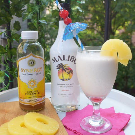 Pineapple Kombucha Piña Colada Recipe