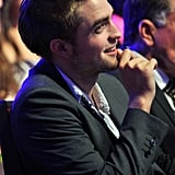 Robert Pattinson at the 2011 Teen Choice Awards.