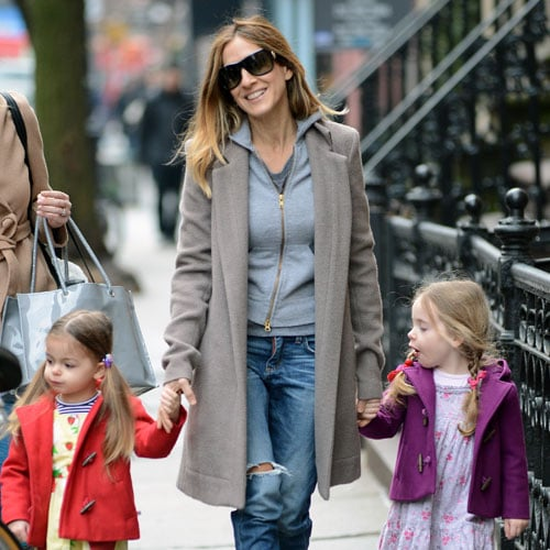 Sarah Jessica Parker With Loretta and Tabitha in NYC