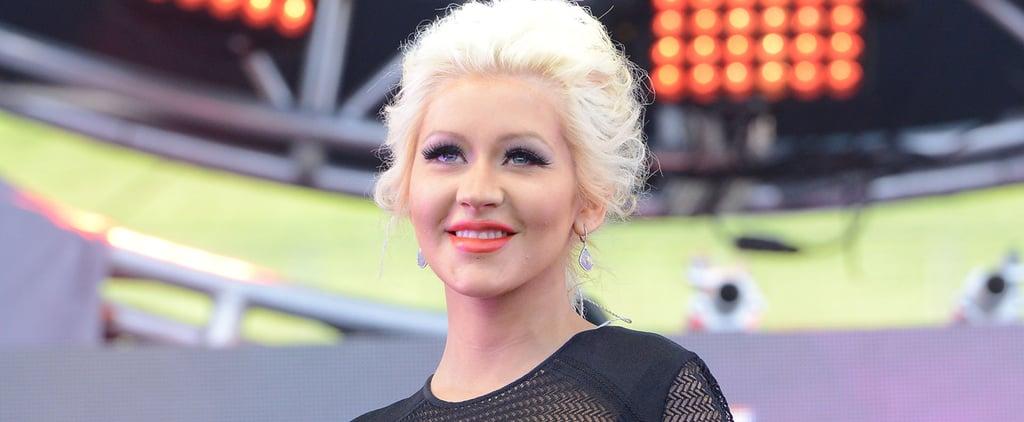 Christina Aguilera Gives Birth to Baby Girl