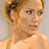 Jennifer Lopez's Milk Braid in 2005