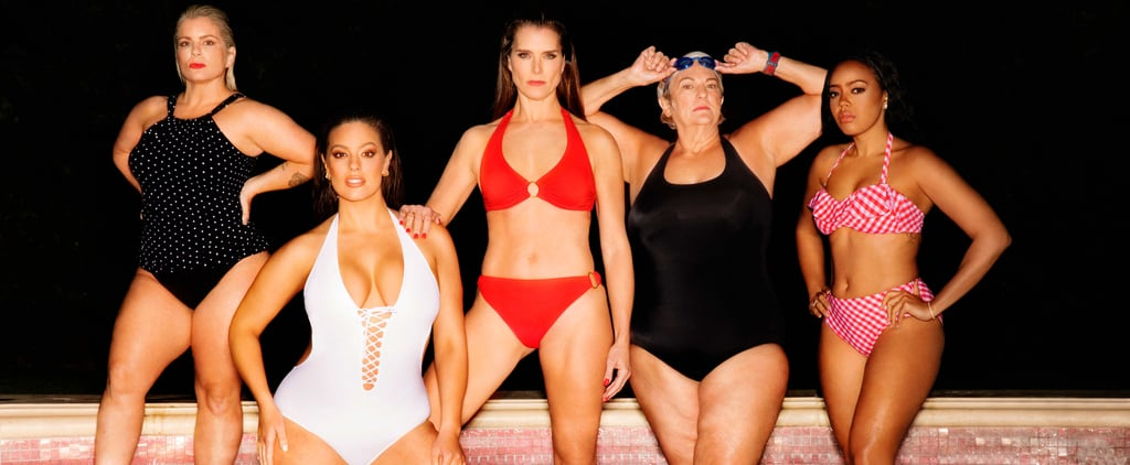 Ashley Graham and Brooke Shields Swimsuits For All Campaign