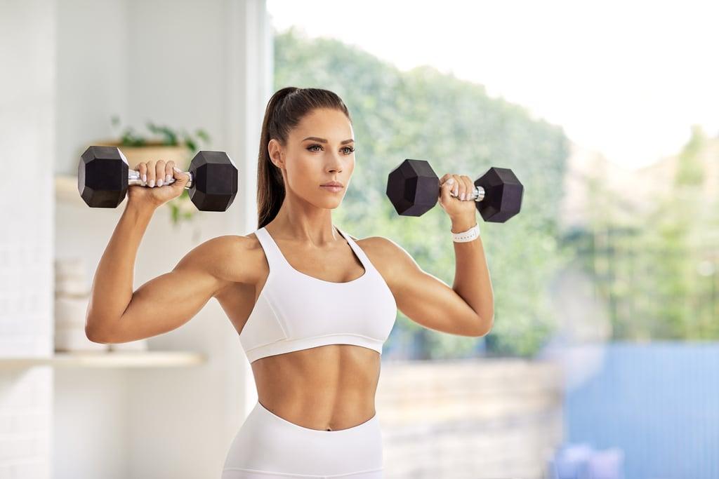 Kelsey Wells Back and Shoulder Workout
